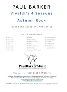 Vivaldi's 4 Seasons Autumn Rock-Band-Paul Barker Music