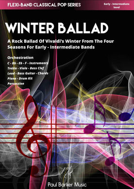 Vivaldi's 4 Seasons Winter Ballad - Paul Barker Music