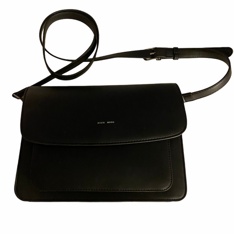 Pixie Mood Black vegan leather purse