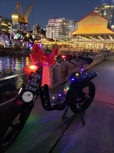 Top 3 e-Bike Destinations to Celebrate the Holiday Season on Vancouver's North Shore