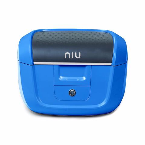 niu cyan rear tail box