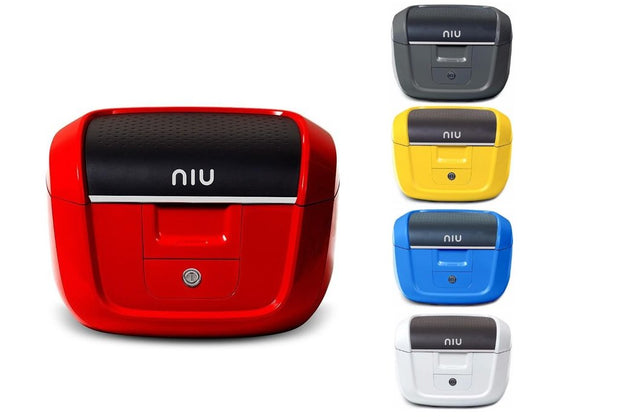Niu electric scooter tail box