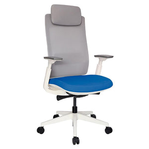 Silla Ejecutiva Quo Blanco OHE-805 Offiho