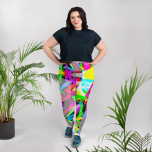 Load image into Gallery viewer, 'TR!P 8' | PLUS SIZE LEGGINS
