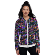 Load image into Gallery viewer, 'COLLAGE' | FULL BOMBER JACKET | UNISEX