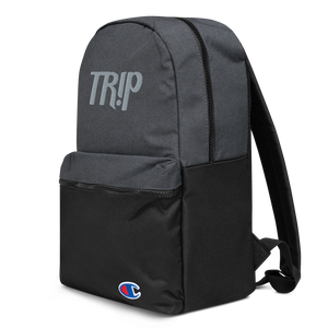 'TR!P CHAMPION' | EMBROIDERED BACKPACK