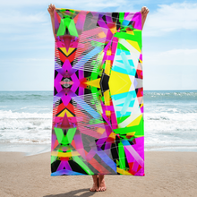 Load image into Gallery viewer, 'TR!P 8' | SUBLIMATED TOWEL