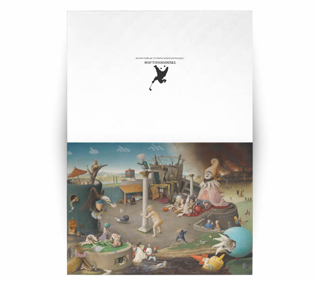 The Arrival of Trump in Hell postcard set of 10