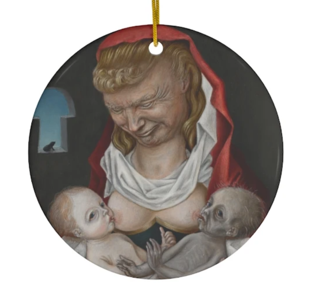 Mother Fucker Ornament