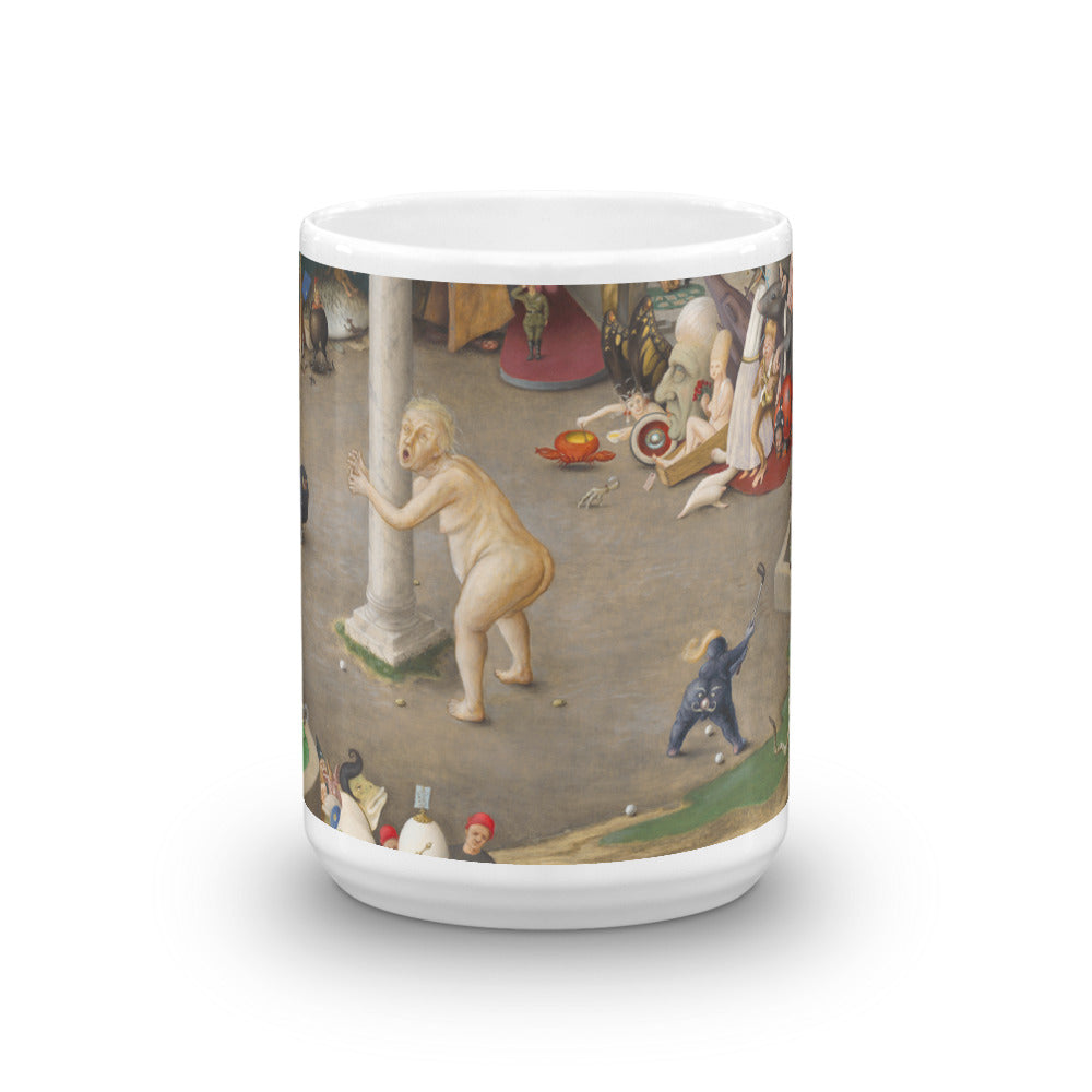 The Arrival in Hell Mug