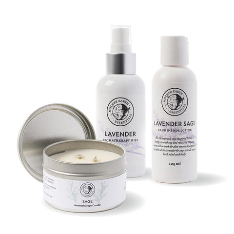 Lavender & Sage Gift Pack<br>by Mother Earth Essentials