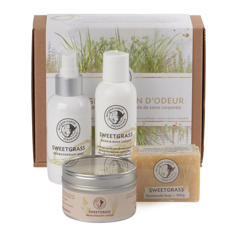 Sweetgrass Self-Care Set<br>by Mother Earth Essentials