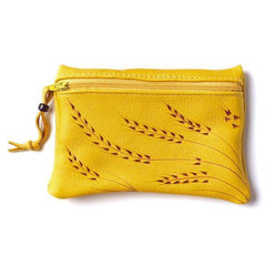 Large Deerskin Change Purse