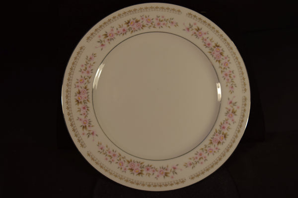 Norleans Summer Garland 10.25in Rimmed Dinner Plate