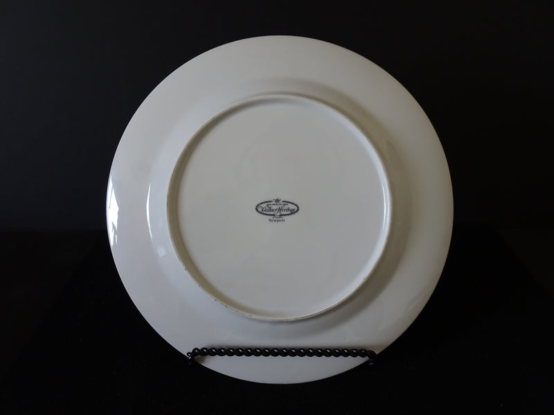 Wallace Heritage Newport 10.25in Rimmed Dinner Plate