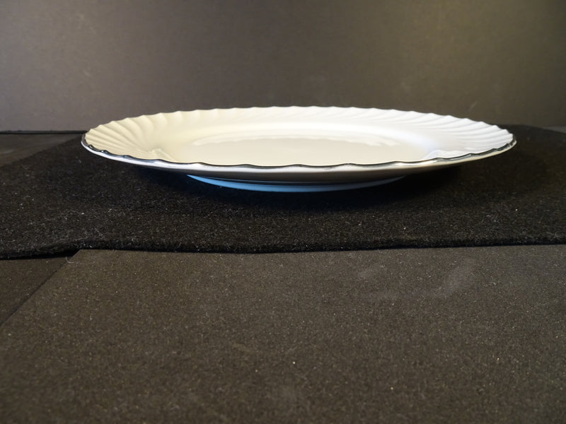 Puritan China Estate 10.35in Rimmed Dinner Plate