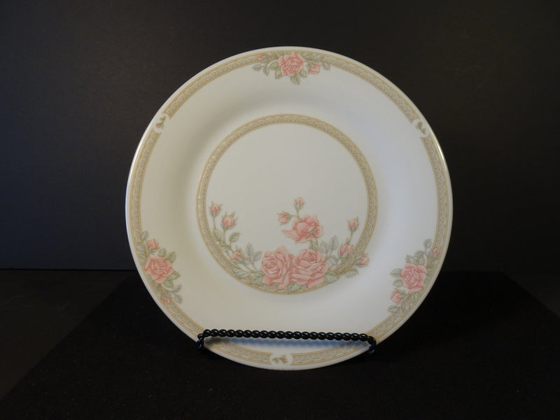 Crown Ming Fine China Christina 10.35in Rimmed Dinner Plate