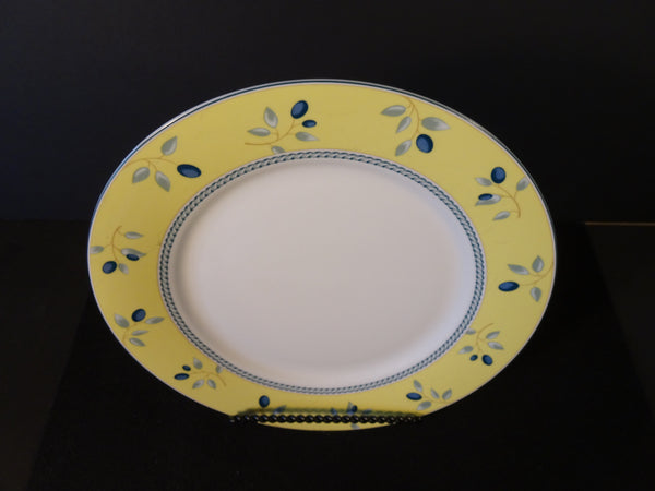 Royal Doulton Blueberry 10.25in Rimmed Dinner Plate