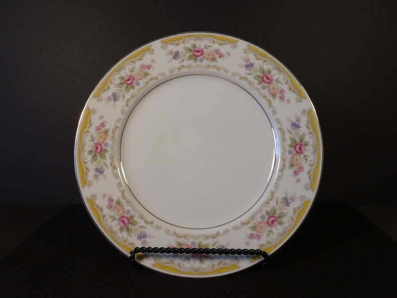Style House Fine China Chippendale 10.50in Rimmed Dinner Plate