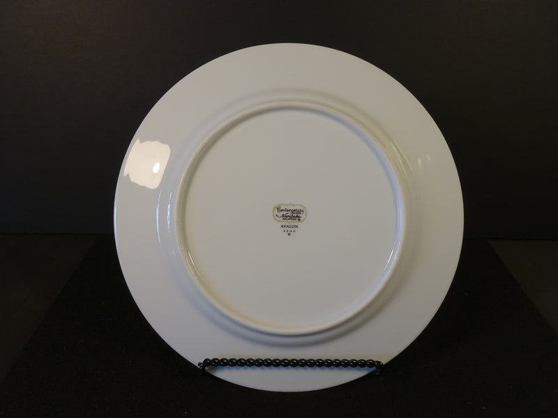 Contemporary by Noritake Avalon 10.5in Rimmed Dinner Plate