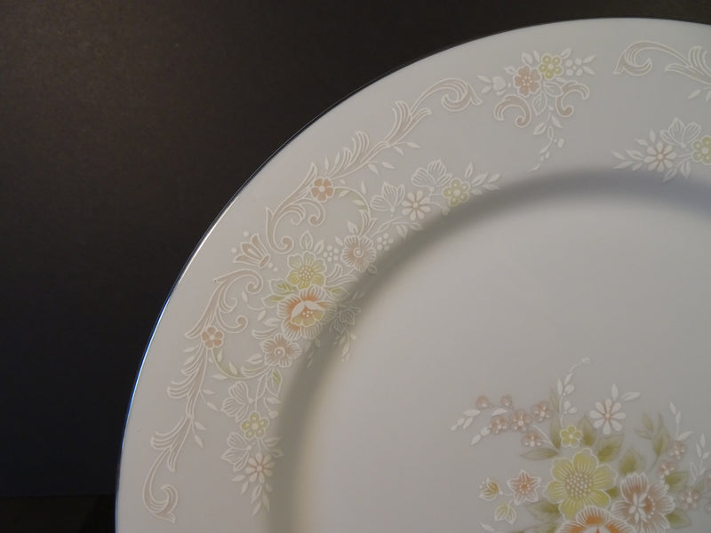 International Porcelain The Brighton Collection (Promise) 10.5in Rimmed Dinner Plate
