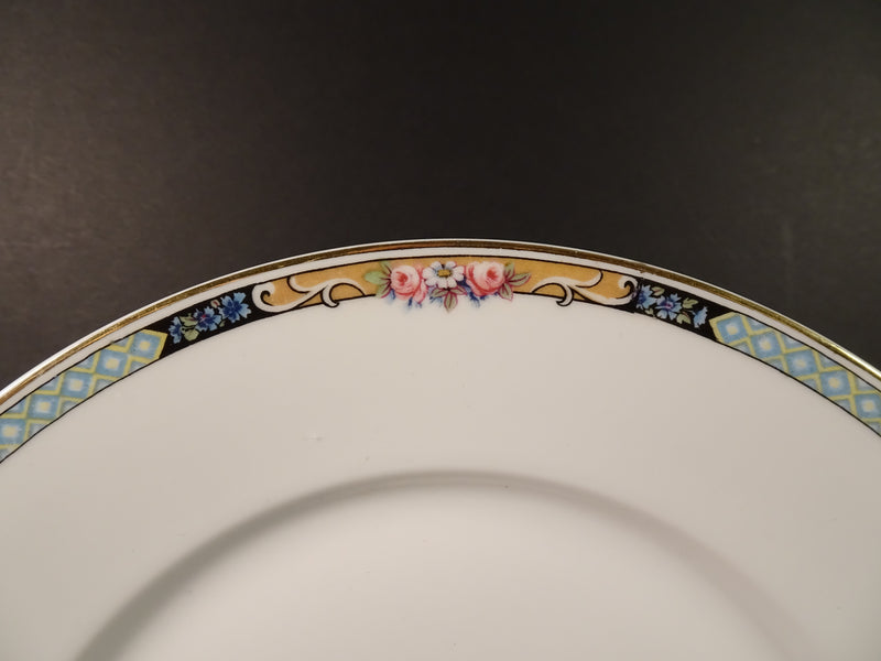 KPM Germany  9.5in Round Dinner Plate