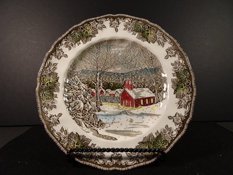 Johnson Bros The Friendly Village 10in Round Dinner Plate