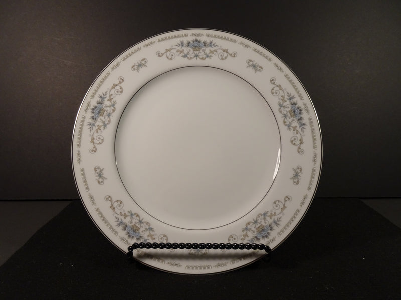 Fine Porcelain China Diane 10.25in Round Dinner Plate