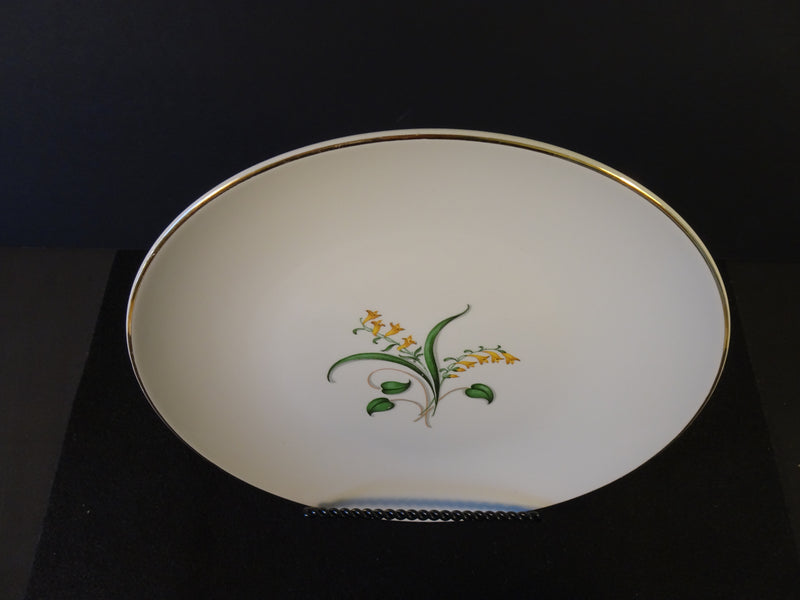 Knowles Forsythia 10.2in Coupe Dinner Plate