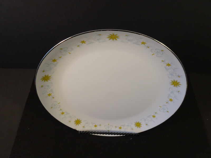 Premiere Fine China Alpine Gold 10.25in Coupe Dinner Plate