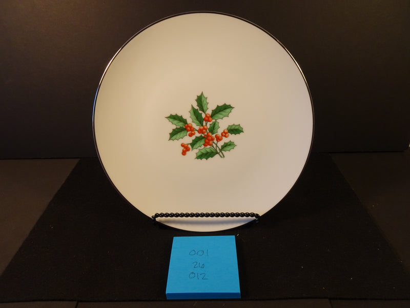 Noritake China Fremont 10.75in Coupe Dinner Plate