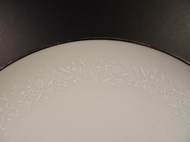 Noritake China Lorelei 10.7in Coupe Dinner Plate