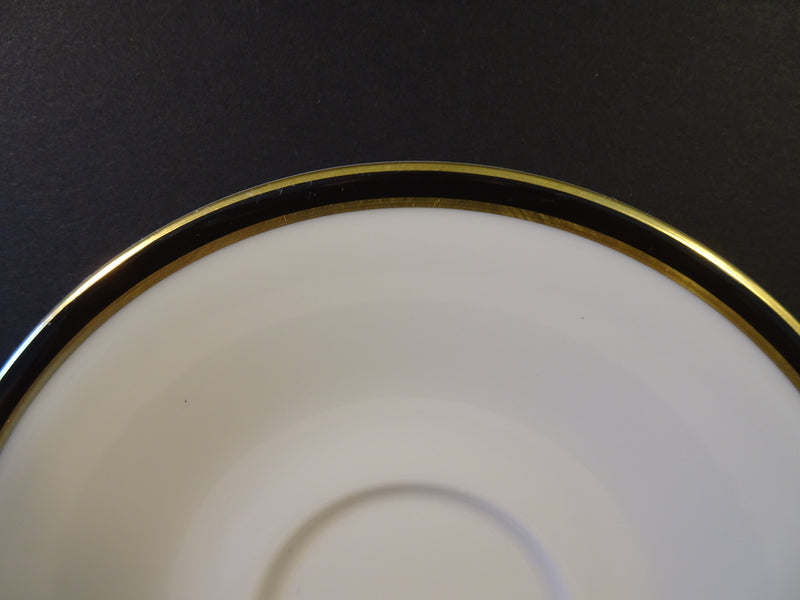 Royal Doulton Oxford Black 6in Saucer