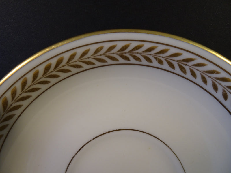 Lamberton Ivory China Josephine 5.9in Saucer