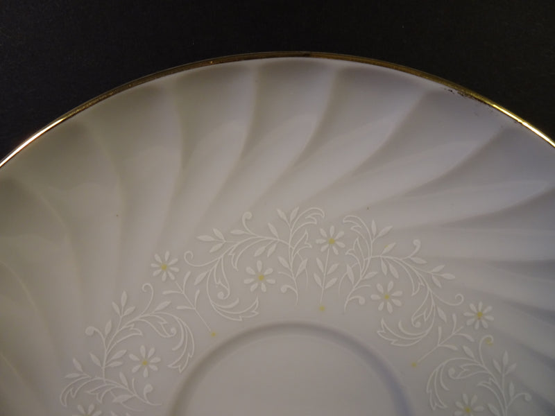 Bridal Bouquet by Bristol Fine China  6.25in Saucer