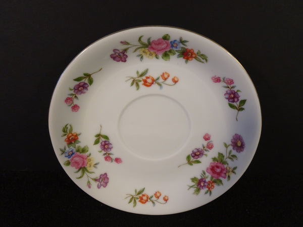 Aladdin Fine China Dresdenia 5.6in Saucer