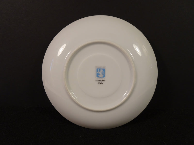Camelot China Carrousel 6.10in Saucer