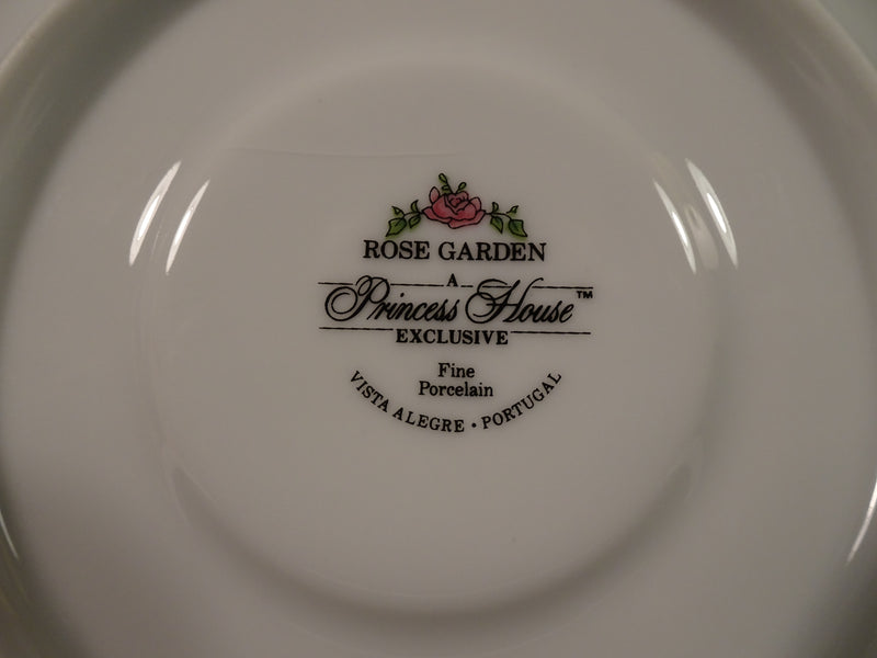 Princess House Rose Garden 5.5in Saucer