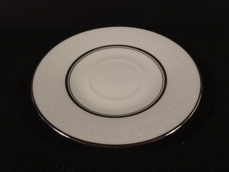Oxford White Echo 6in Saucer