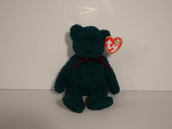 2001 Holiday Teddy Beanie Babie By Ty Inc.