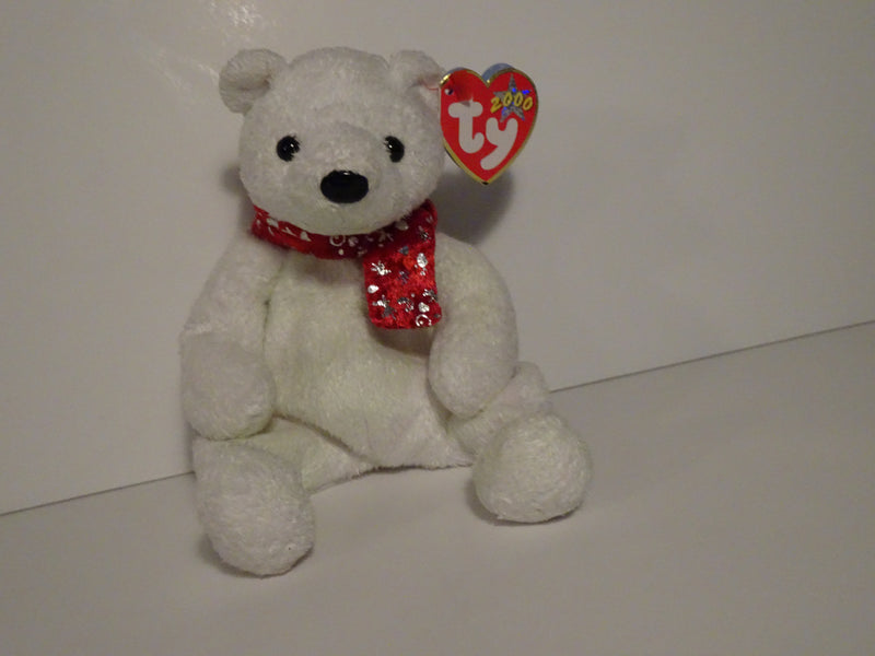 2000 Holiday Teddy Beanie Babie By Ty Inc.