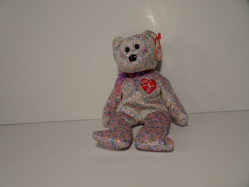2001 Signature Bear Beanie Babie By Ty Inc.