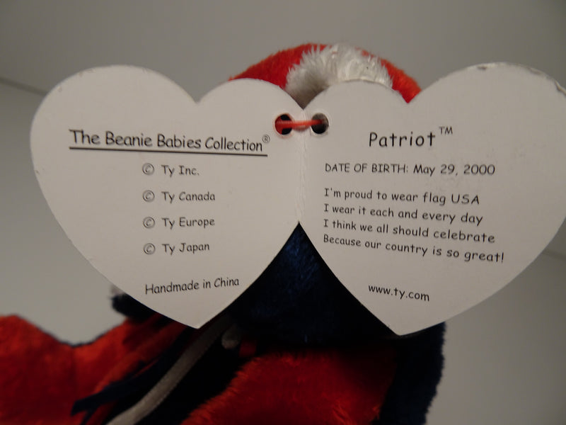 Patriot Beanie Babie By Ty Inc.