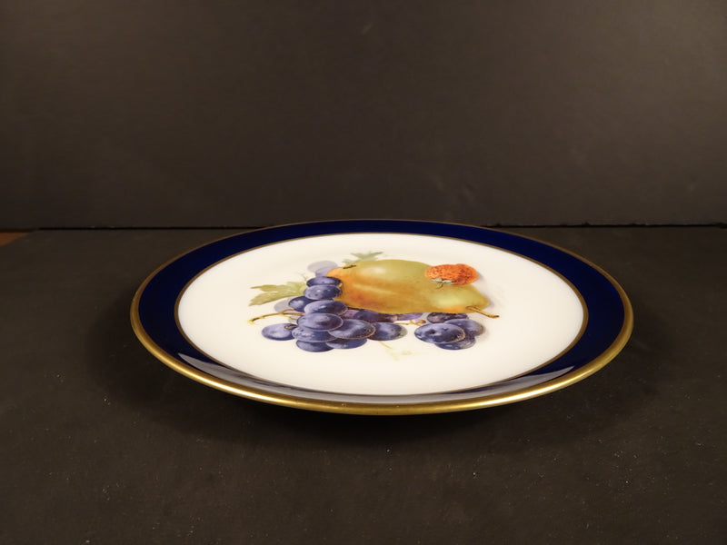 Golden Crown Echt Cobalt 7.5in Round Salad Plate