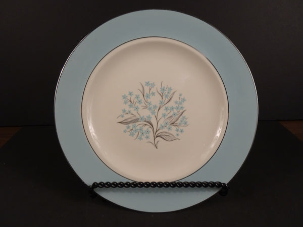 Sevron Blue Lace 8.25in Round Salad Plate