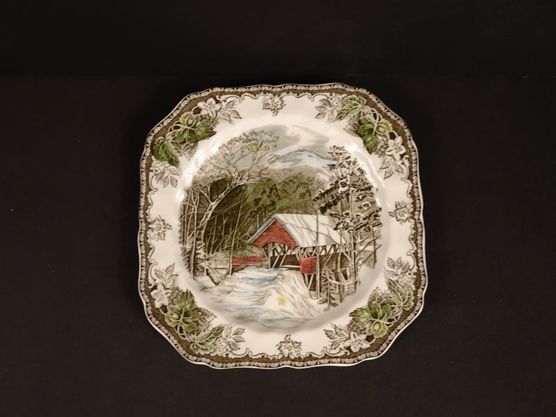 Johnson Bros The friendly Village 7.75in Round Salad Plate