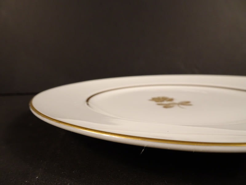 Sango Gold Rose 7.5in Round Salad Plate