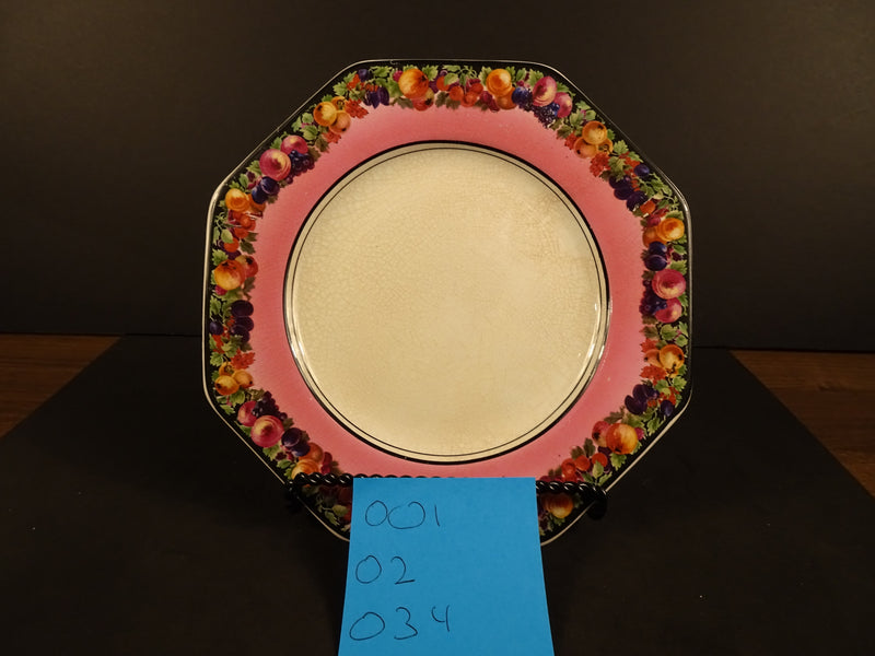 Empire Works Stoke on Trent Empire Ware 8.5in Round Salad Plate