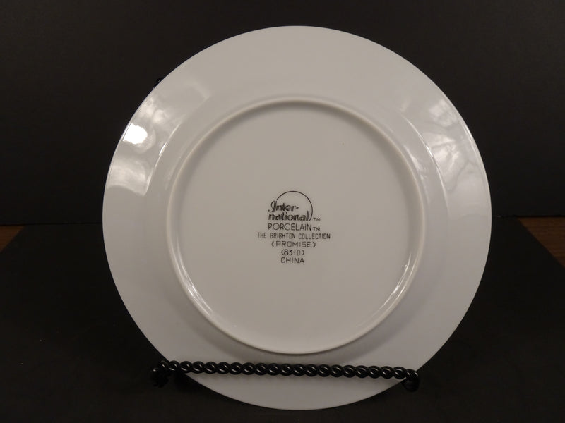 International Porcelain The Brighton Collection (Promise) 5.75in Rimmed Salad Plate