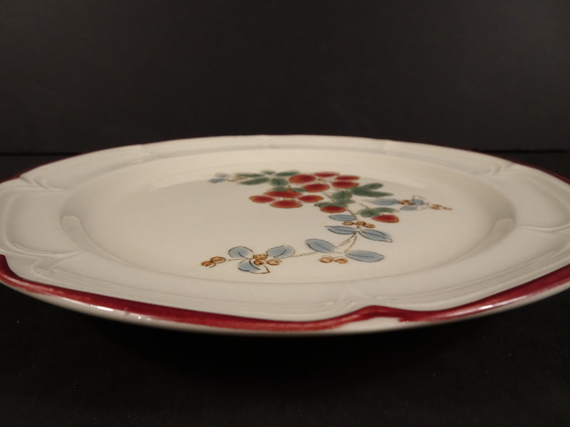 Finesse Carolyn 7.60in Rimmed Salad Plate
